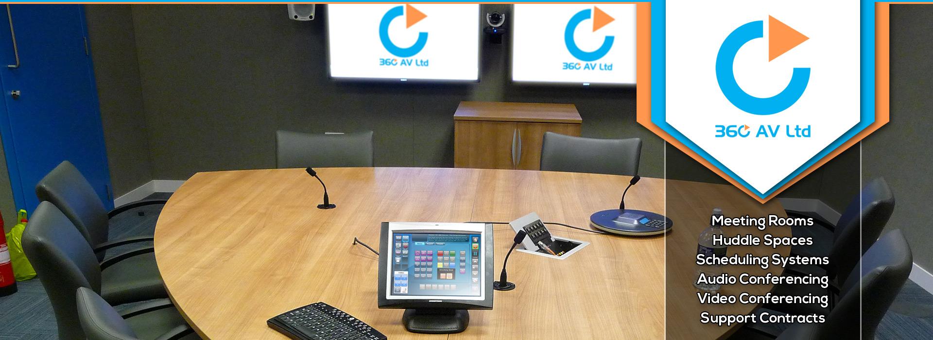 360 AV Ltd | Video Conference Room