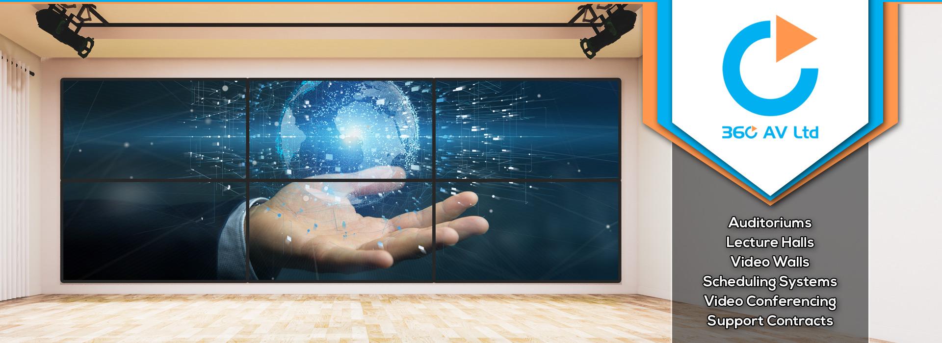 360 AV Ltd | Video Walls